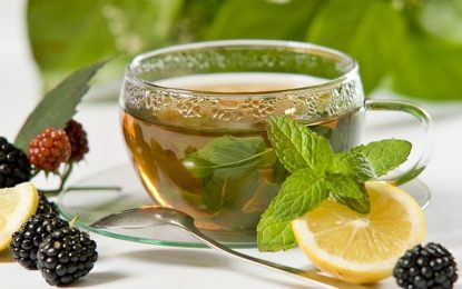 ۲ گیاه دارویی ضد سرطان,چای سبز و زردچوبه