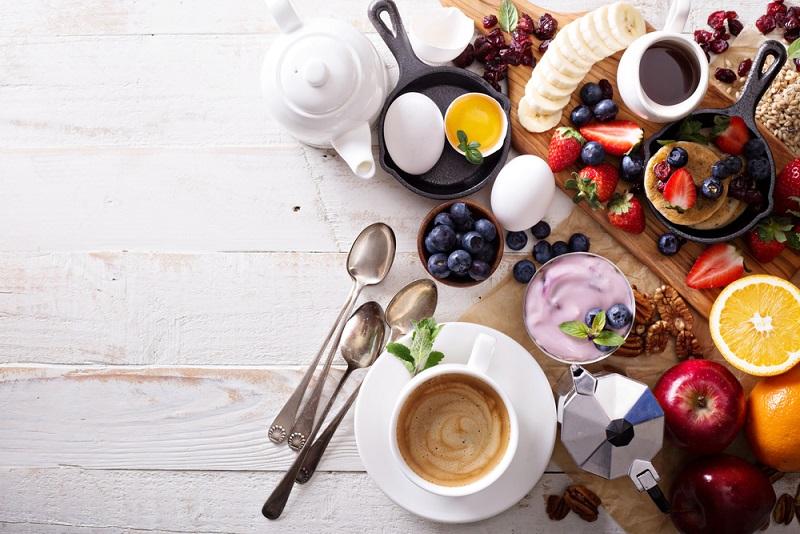 تناسب اندام در چند هفته با برنامه غذایی صبحانه