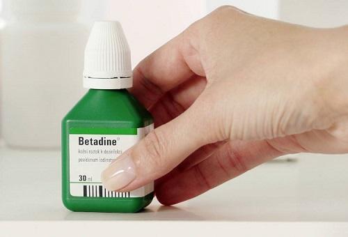 بتادین یا پوویدون آیوداین povidone iodine or betadine