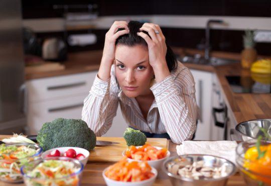 با رژیم غذایی استرس را مهار کنید