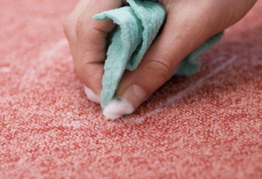 لکه های فرش و موکت