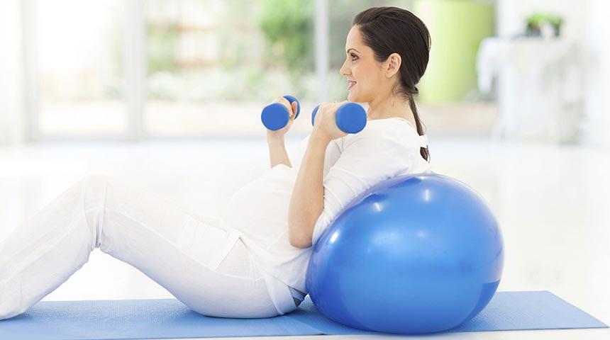 ورزش کردن در بارداری