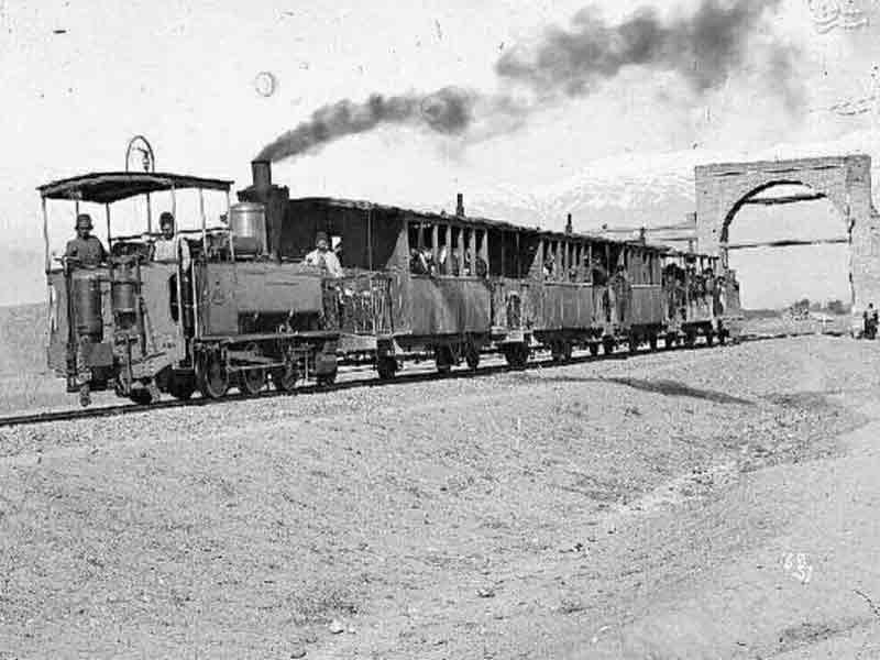 اولین قطار ایران